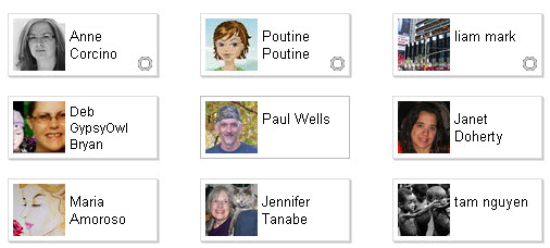 Google Plus - people who have added you