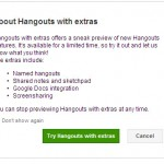google+hangouts - with extras