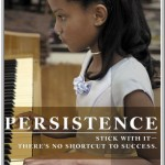 persistence - no shortcut to success