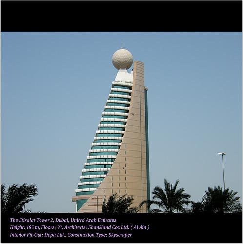 ISP - ETISALAT TOWER 2  -  DUBAI