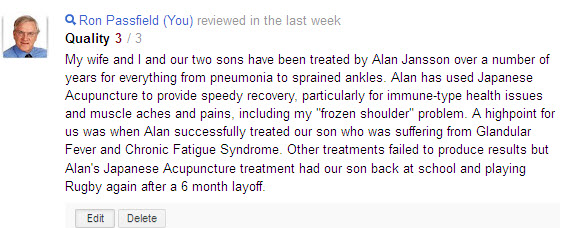 alan jansson Google+ review